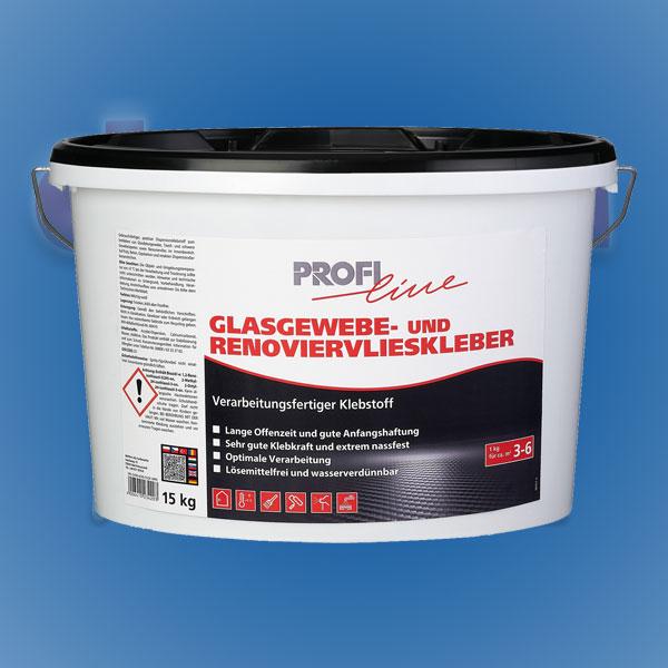 Glasgewebe- und Renoviervlieskleber 15kg ProfiLine