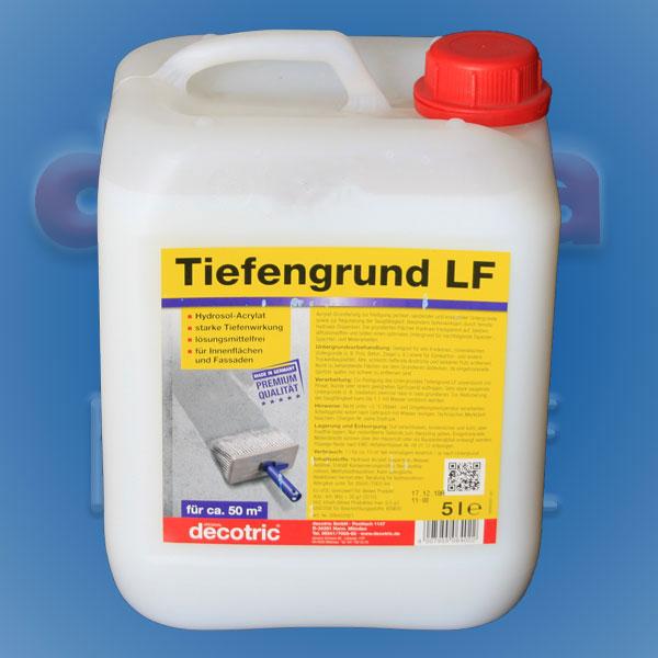 Tiefengrund LF Hydrosol-Acrylat 5ltr