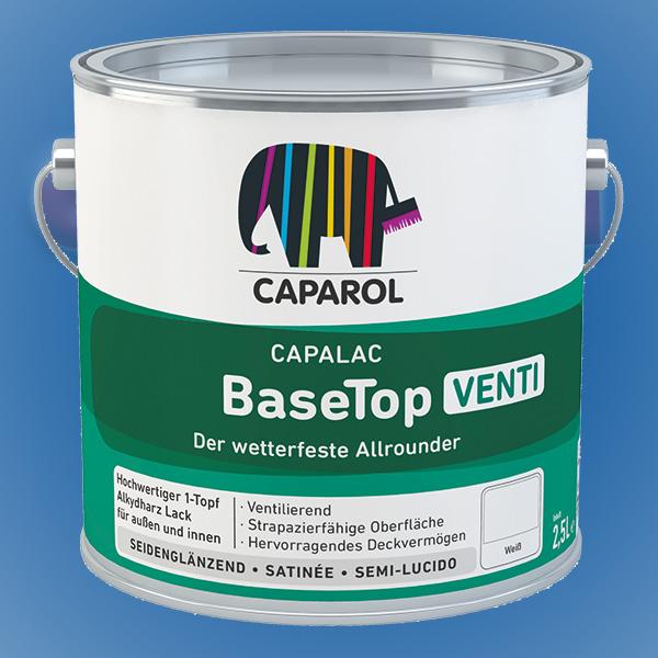 CAPAROL Capalac BaseTop Venti - 2,50 Liter weiß (Abbildung ähnlich)