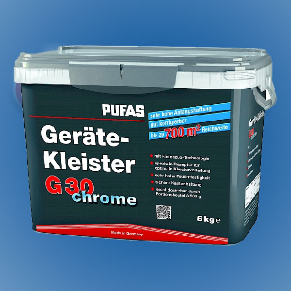 PUFAS Geräte-Kleister G30 chrome