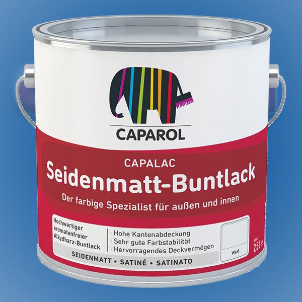 CAPAROL Capalac Seidenmatt-Buntlack - 2,50 Liter weiß (Abbildung ähnlich)