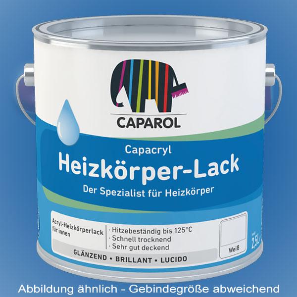 CAPAROL Capacryl Heizkörperlack - 2,5l weiß (Abbildung ähnlich)
