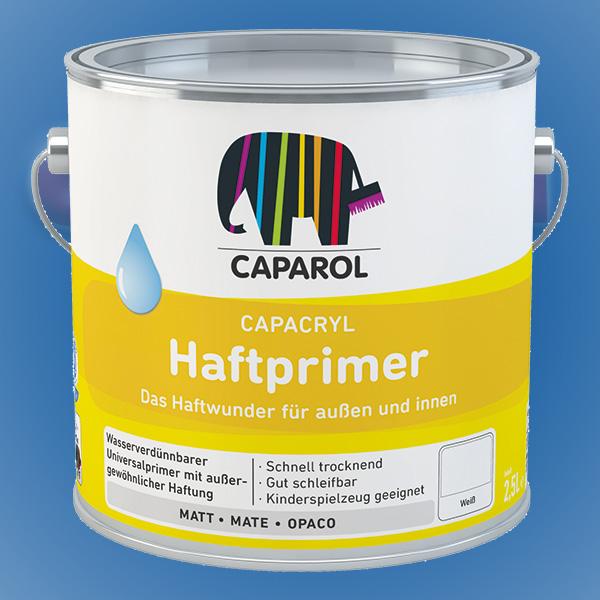 CAPAROL Capacryl Haftprimer - 2,50 Liter weiß (Abbildung ähnlich)