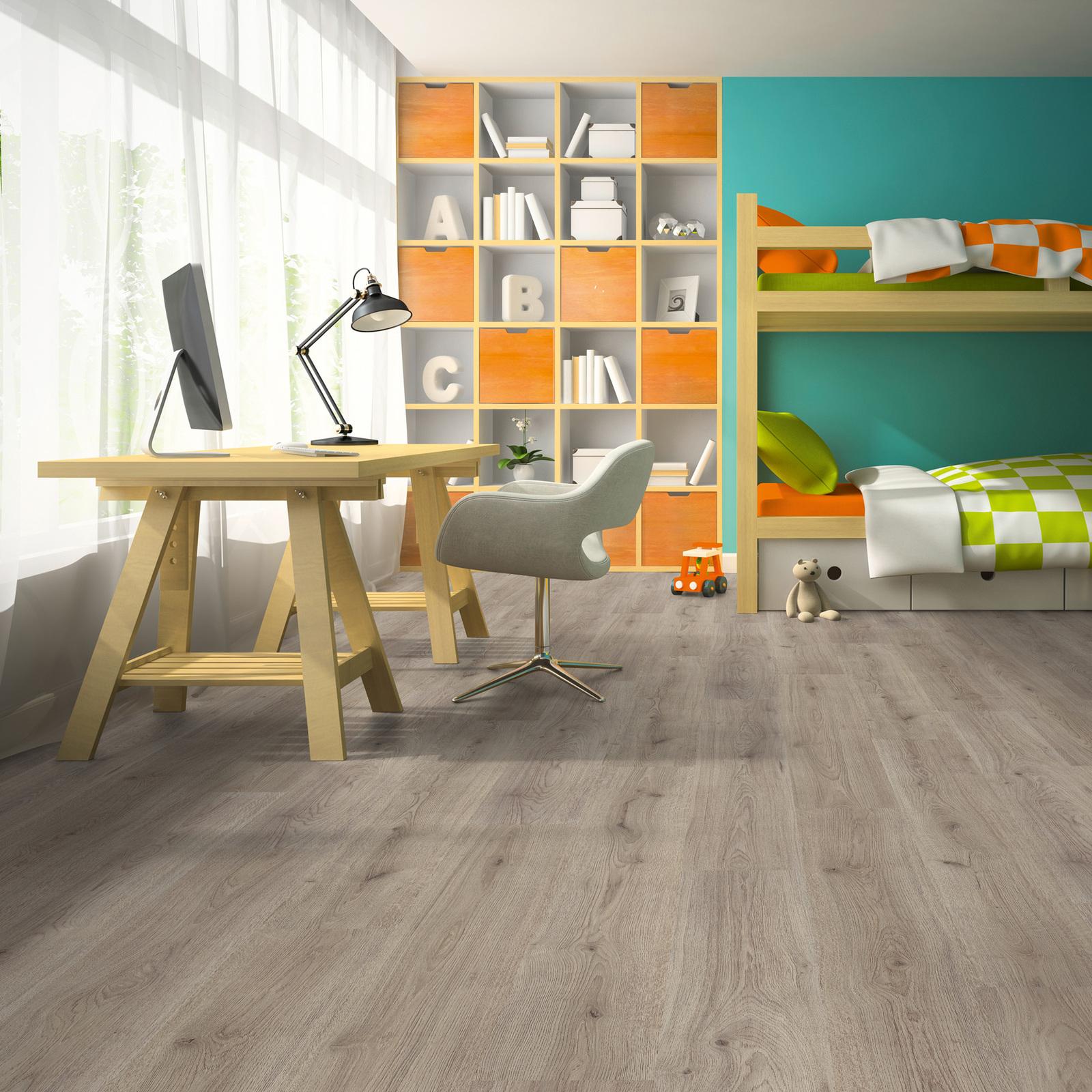 BASIC Laminat Trend Oak Grau 1-Stab