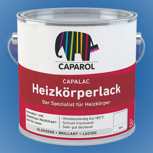 CAPAROL Capalac Heizkörperlack - 2,50 Liter weiß (Abbildung ähnlich)