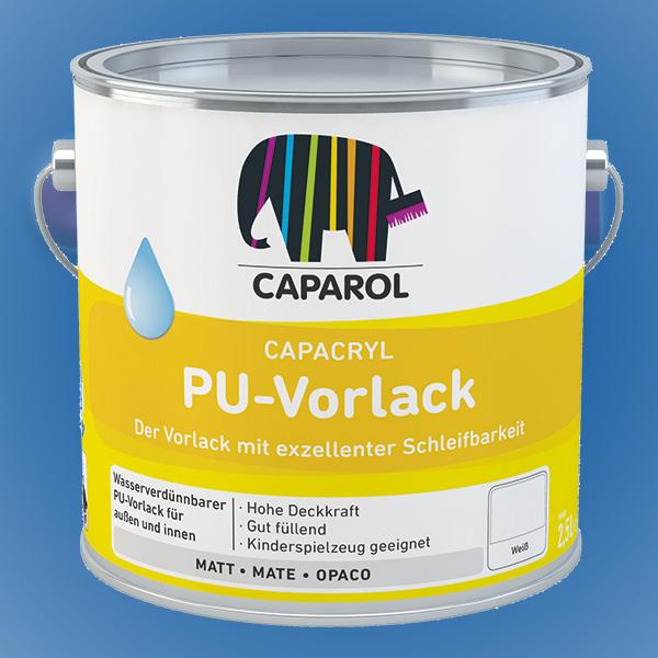 CAPAROL Capacryl PU-Vorlack - 2,50 Liter weiß (Abbildung ähnlich)