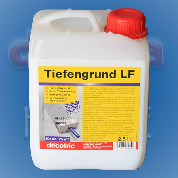 Tiefengrund LF Hydrosol-Acrylat 2,5ltr