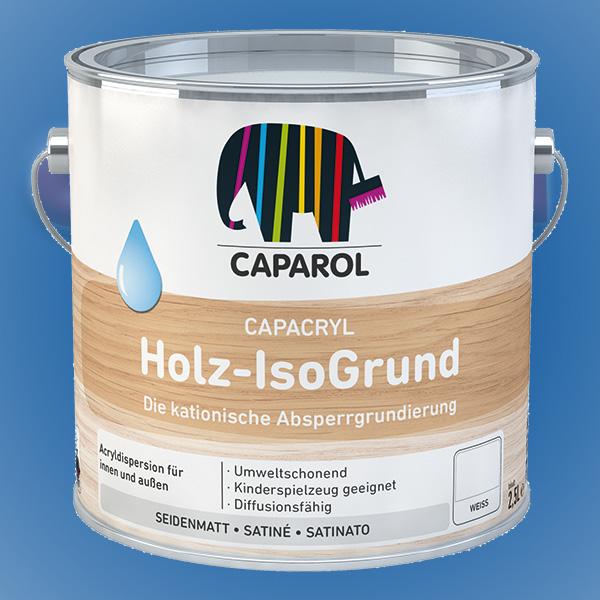 CAPAROL Capacryl Holz-IsoGrund - 750ml weiß (Abbildung ähnlich)