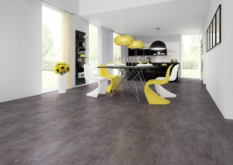 JOKA Designboden 330 Dark Silver Stone 2864