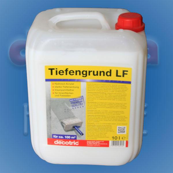Tiefengrund LF Hydrosol-Acrylat 10ltr